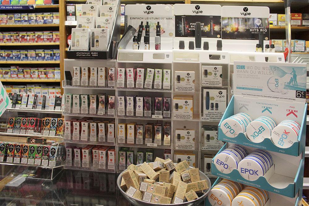 Einrichtung - Tabakladen Marktallee in 48165 Münster