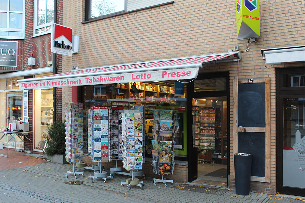 Gelmer Markt GmbH Münster - Tabakladen Marktallee Münster